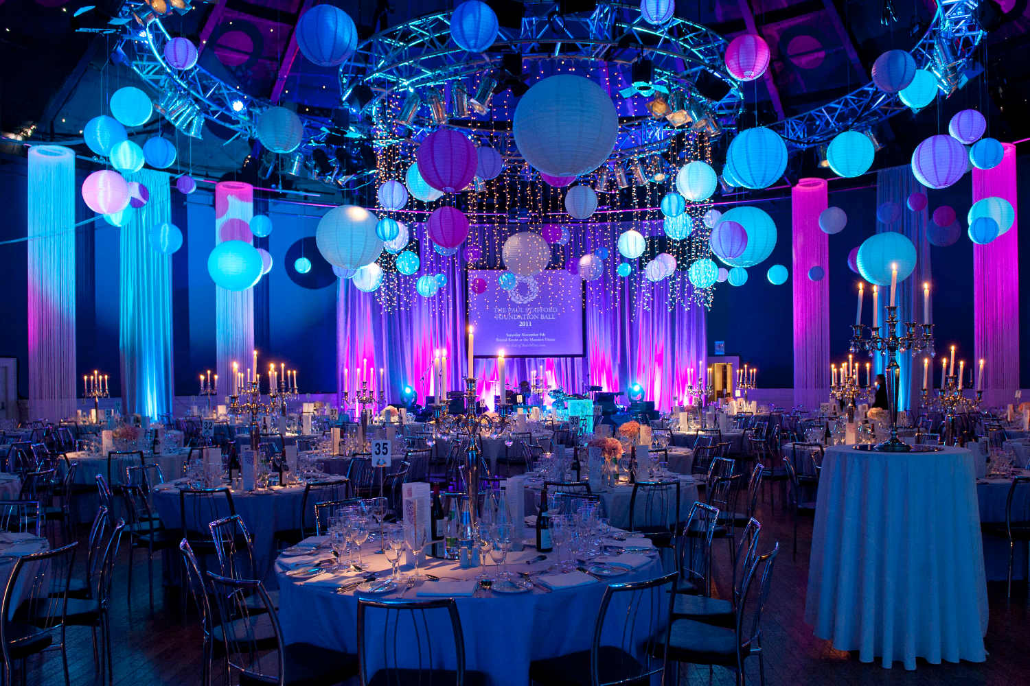 White events party planner designs