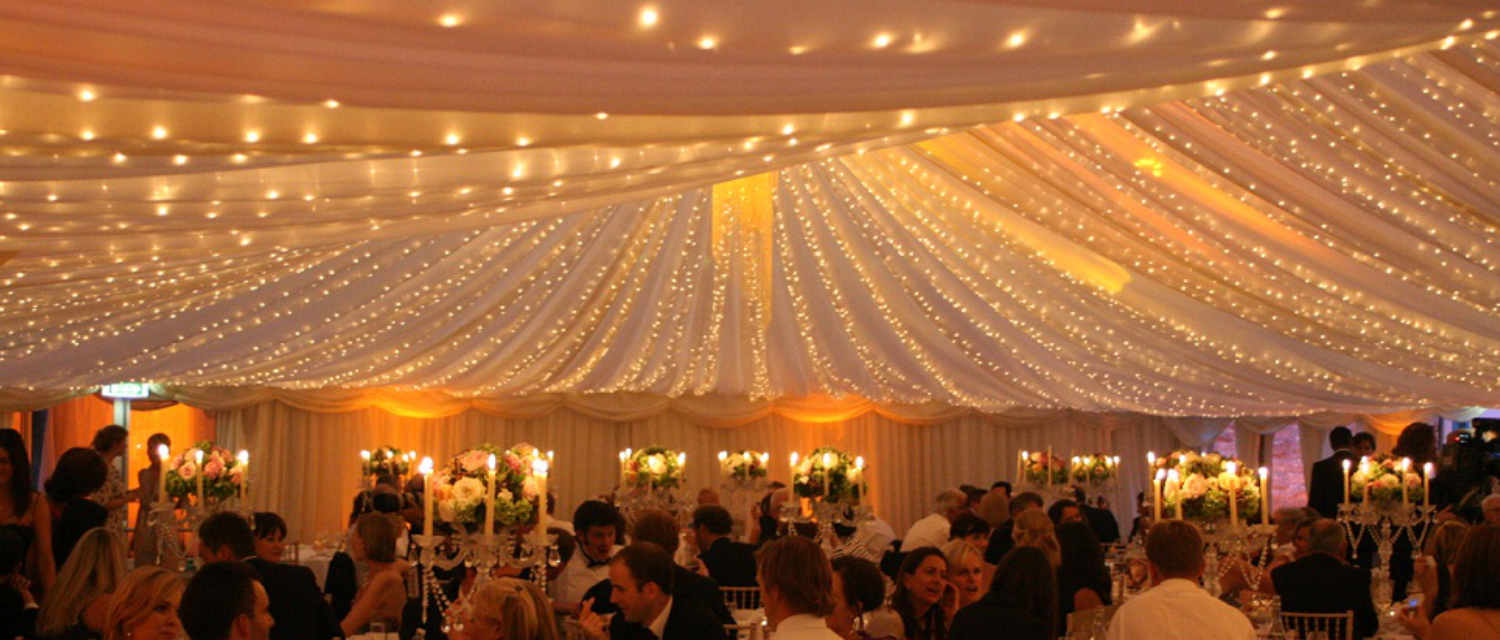 fairy lights rental for weddings & parties indoor and outdoor