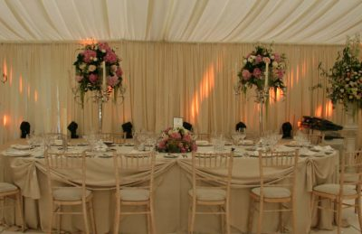 silver candelabras for hire and rental for events like weddings and corporate parties for top tables