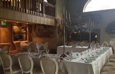 tall silver candelabras for event hire and rentals