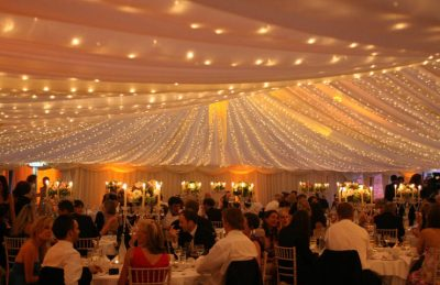 wedding fairy lights ceiling and drapery ceiling