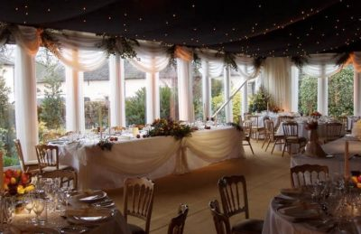 wedding pipe and drape rentals and installation