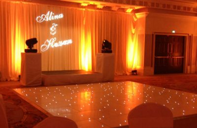 sparkly white dance floor rental weddings and parties